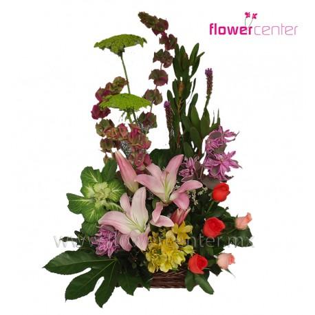 Canasta Flower