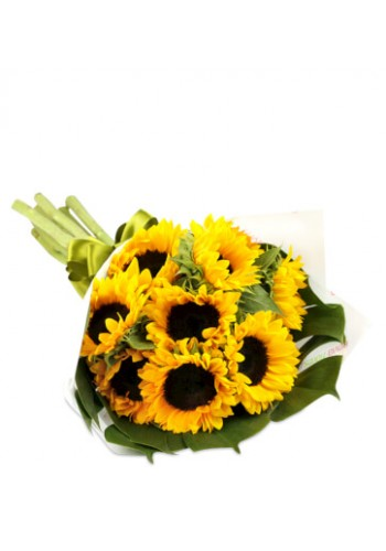Girasoles en Bouquet