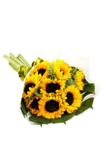 Girasoles en Bouquet