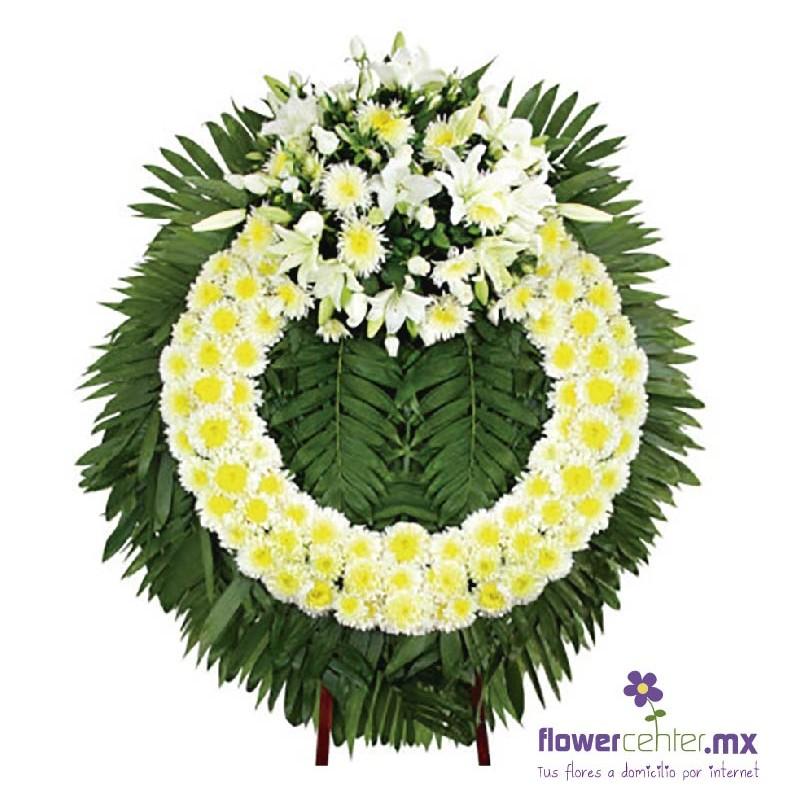 Arreglo Para Funeralrosasflorerias En Guadalajaraenvios Floralesregalospeluchesglobos