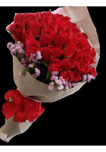 50 Abrazos en Bouquet de $1250 a $1125