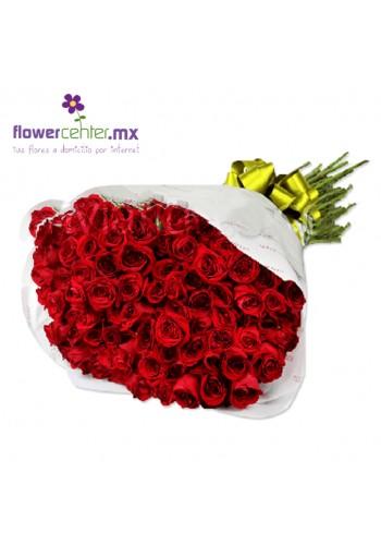 100 BESOS en Bouquet de $2100 a $1890