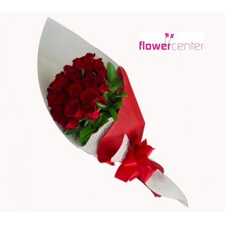 COMBO Dulces San Valentin Bouquet 24 Rosas