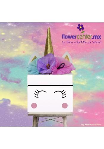 Caja Unicornio Feliz