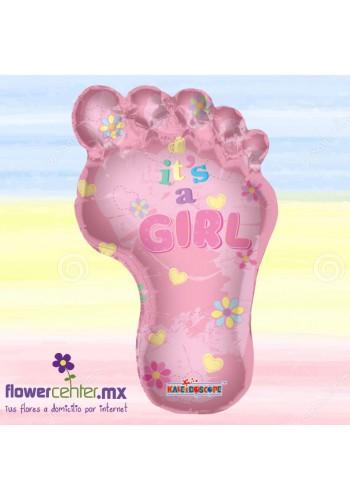 Globo de Huellita  Its a Girl