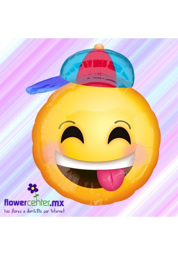 Globo Metalico Emoji Niño